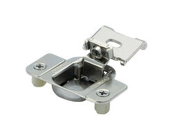 Amerock 2-5/16 in. W x 2-3/8 in. L Nickel Steel Matrix Concealed Hinge 2 pk