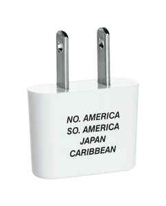 Travel Smart  For Worldwide Adapter Plug In  Type A, Type B