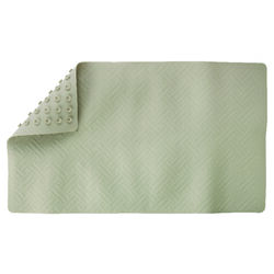 Living Accents 28 in. L x 16 in. W Beige Thermo Plastic Elastomer Bath Mat Latex Free