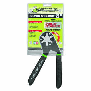 Loggerhead Tools  Bionic Wrench  1/2 inch - 3/4 inch and 12mm- 20mm   Metric and SAE  Adjustable Wre