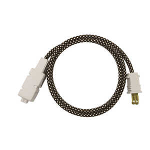 FabCordz  Indoor  6 ft. L Multicolored  Extension Cord  16/2