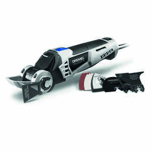 Dremel  Velocity  7 amps Corded  Oscillating Tool  Kit 16000 opm Gray  11 pc.