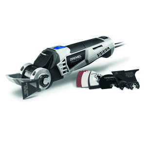 Dremel  Velocity  7 amps Oscillating Tool  Kit 16000 opm Gray  Corded  11 pc.