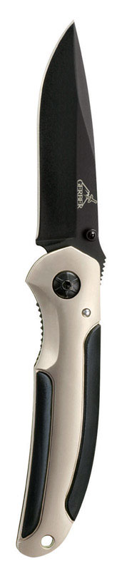 Gerber  AR 3.0  Silver  High Carbon Stainless Steel  6.95 in. Knife