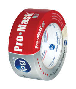 IPG  Pro-Mask  1.88 in. W x 60 yd. L Beige  Medium Strength  Masking Tape  1 pk