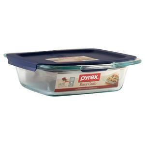 Pyrex 8 In W X L Baking Dish Blue Clear