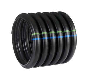 ADS  N-12  20 ft. L x 12 in. Dia. Black  Polyethlene  Culvert Pipe