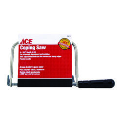 Ace 4 in. Steel Coping Saw 1 pc.
