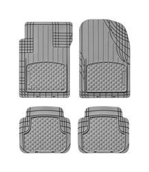 WeatherTech  Gray  Thermoplastic Elastomer  Auto Floor Mats  4 pc.