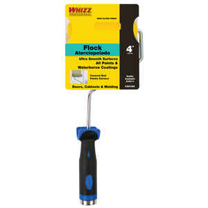 Whizz  4 in. W Mini  Paint Roller Frame and Cover  Threaded End