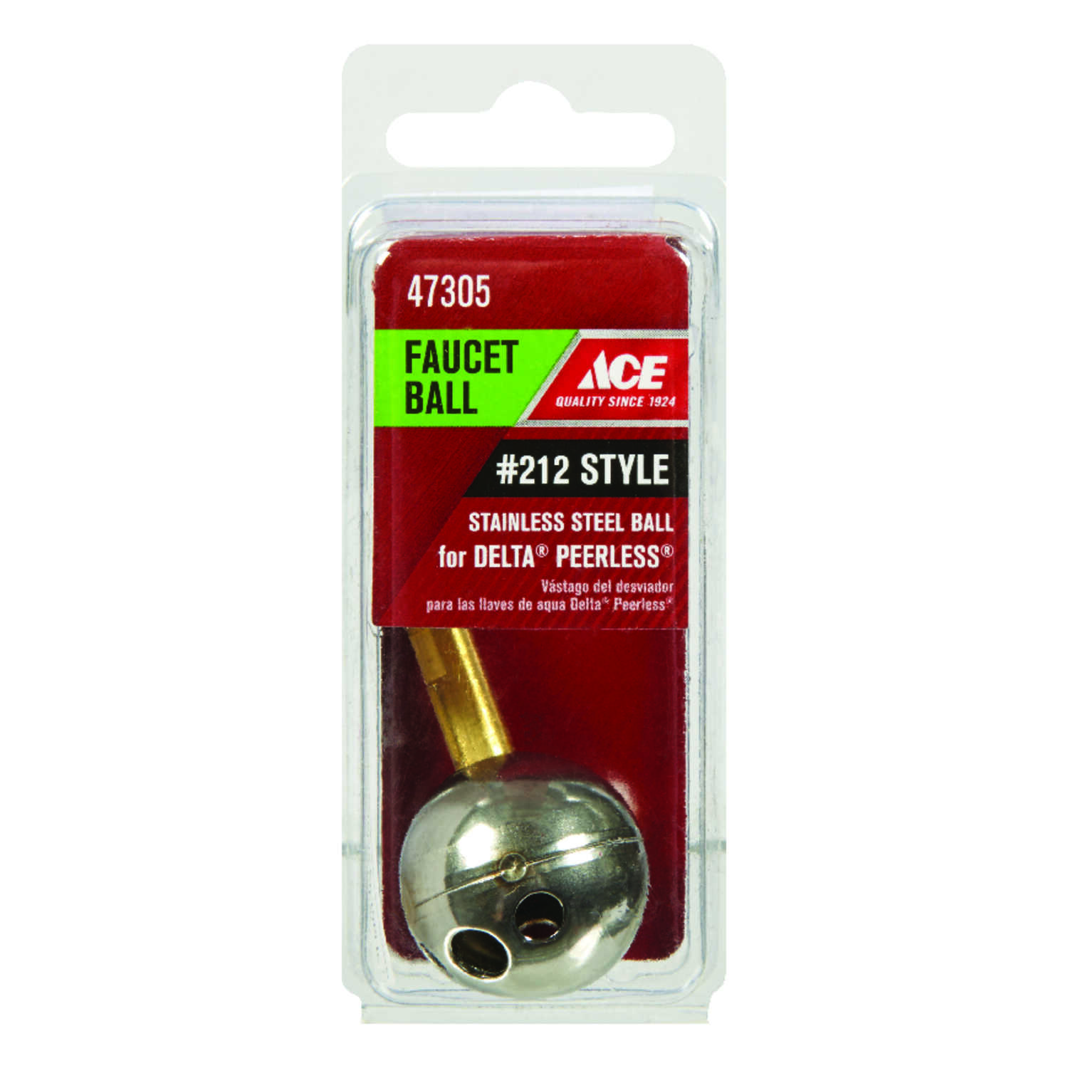 Ace  Hot and Cold  Ball Assembly  Brass