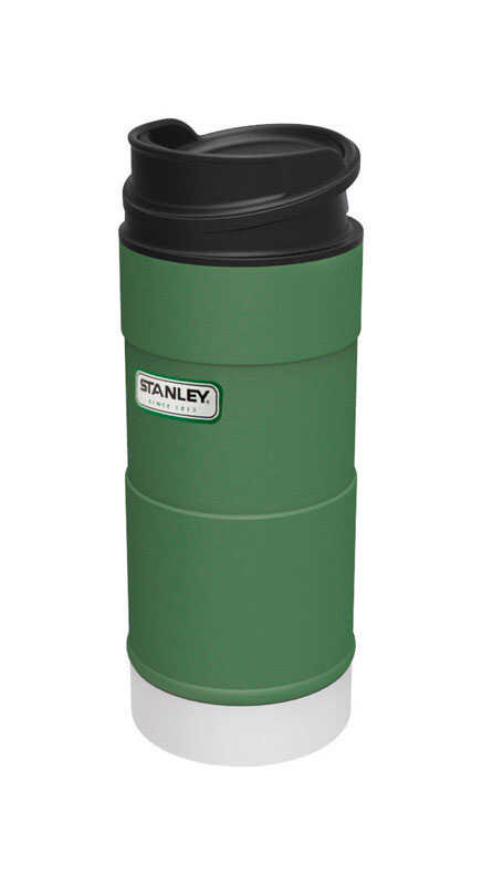 Stanley  Green  Stainless Steel  Classic  Insulated Mug  1 pk