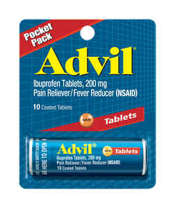 Advil  Pain Reliever  10 count