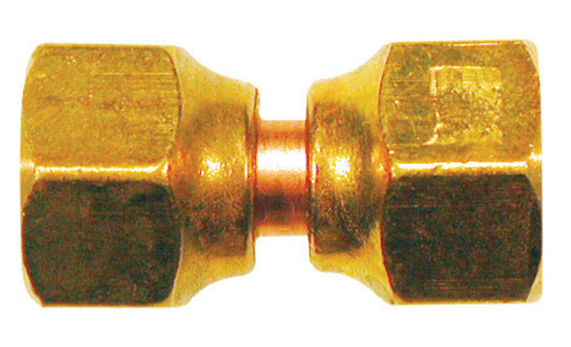 JMF  1/2 in. 1/2 in. Dia. Brass  Swivel Flare Connector