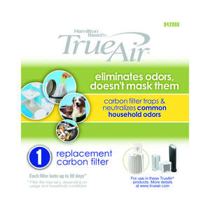 True Air  5.71  H x 5.51  W HEPA Air Purifier Filter  Rectangular