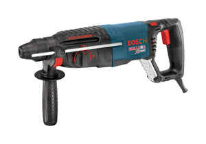 Bosch  Bulldog  1 in. Keyless  D-Handle Corded Hammer Drill  8 amps 5800 rpm
