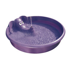 H2O  Elephant  100 gal. Round  Plastic  Wading Pool  12 in. H x 5 ft. Dia.