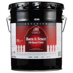 Ace Gloss White Oil-Based Barn and Fence Paint Exterior 5 gal.