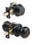 Ace Colonial Oil Rubbed Bronze Knob and Deadbolt Set ANSI Grade 2 1-3/4 in.
