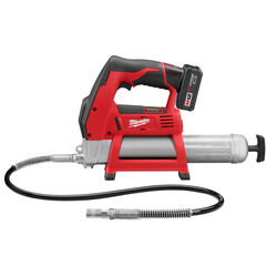 Milwaukee M12 Cordless Electric Grease Gun Kit 14 oz.