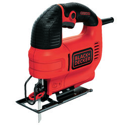 Black and Decker  3/4 in. Corded  Keyless Jig Saw  Bare Tool  120 volt 4.5 amps 3000 spm