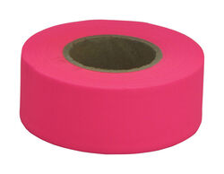 C.H. Hanson  150 ft. L x 1.2 in. W Polyvinyl  Flagging Tape  Fluorescent Pink