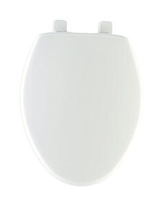 Mayfair  Slow Close Elongated  White  Plastic  Toilet Seat