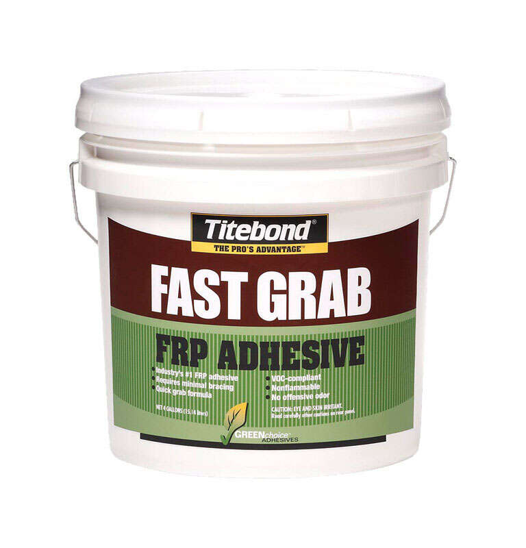 Titebond GreenChoice FRP High Strength Emulsion Polymer Adhesive 4 gal.