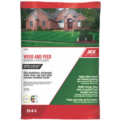 Ace Weed & Feed 29-0-3 Lawn Fertilizer 15000 sq. ft. For All Grasses