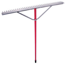 Razor-Back 66.6 in. L x 36 in. W Aluminum Rake Aluminum Handle