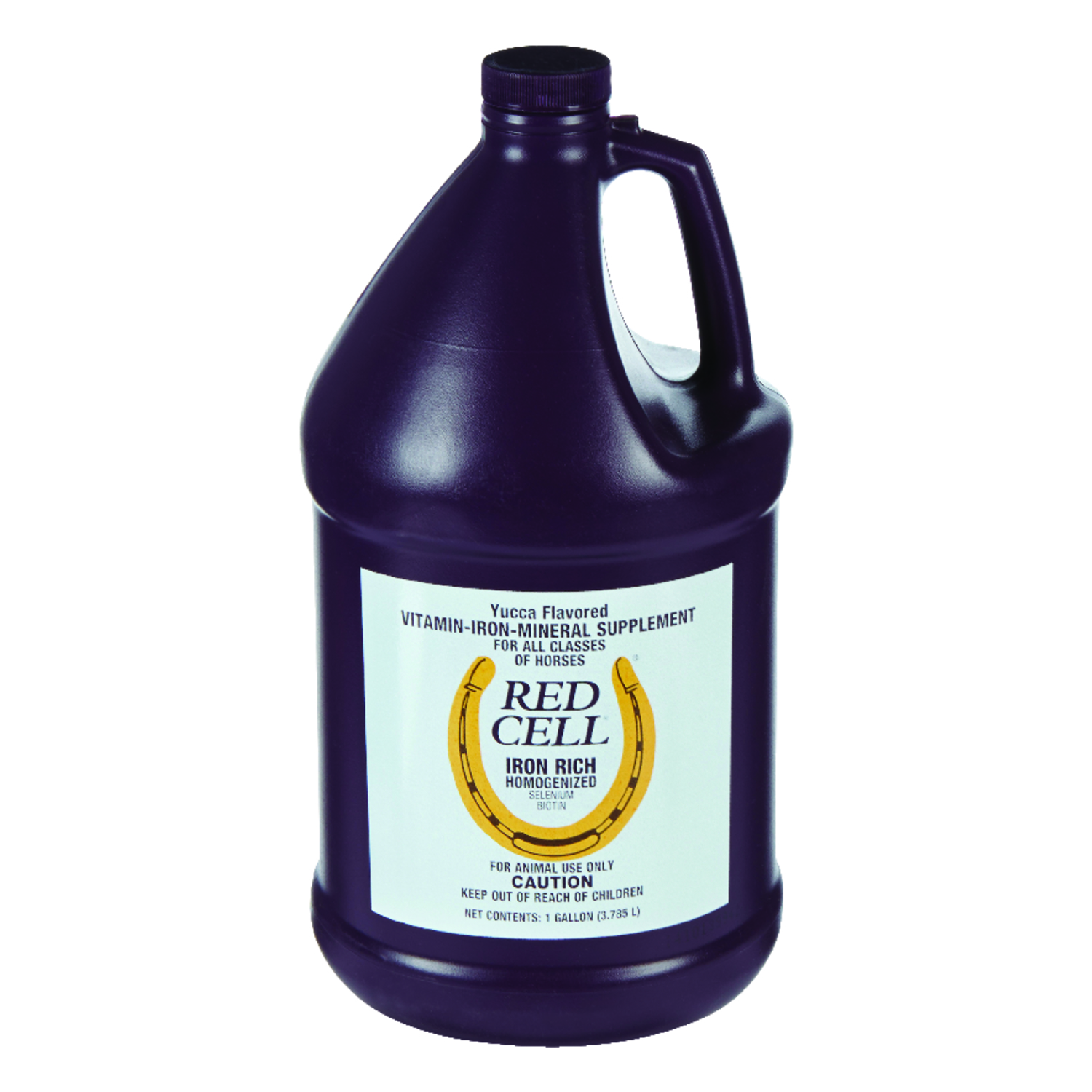 Red Cell  Liquid  Microbial Supplement  For Horse 1 gal.