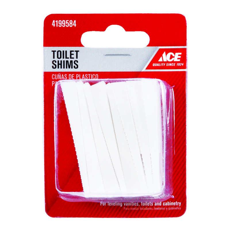 Amazing Ace Toilet Shims White Plastic Ace Hardware Evergreenethics Interior Chair Design Evergreenethicsorg