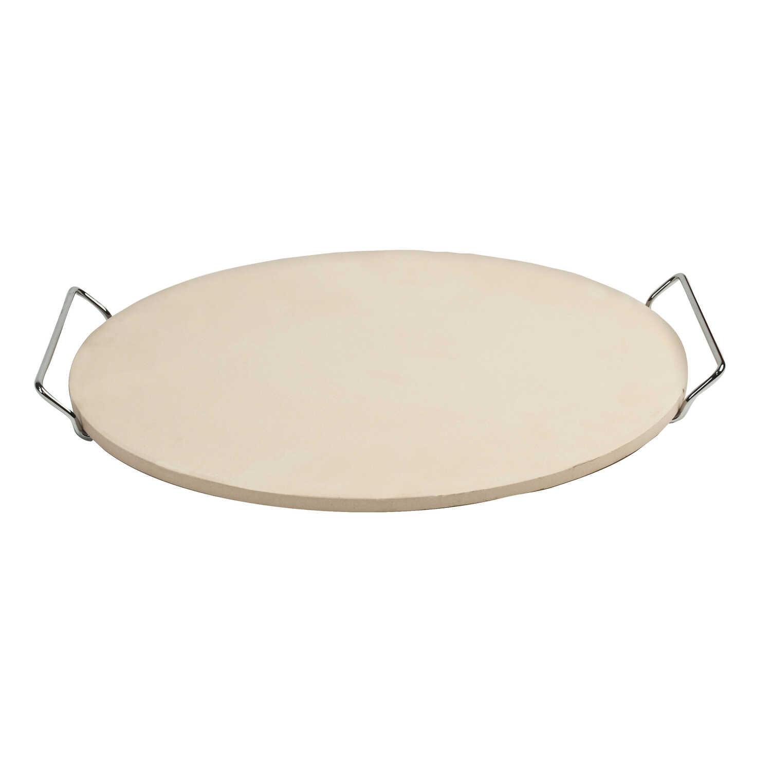 Pizzacraft  15 in. W x 15 in. L Natural  Pizza Stone