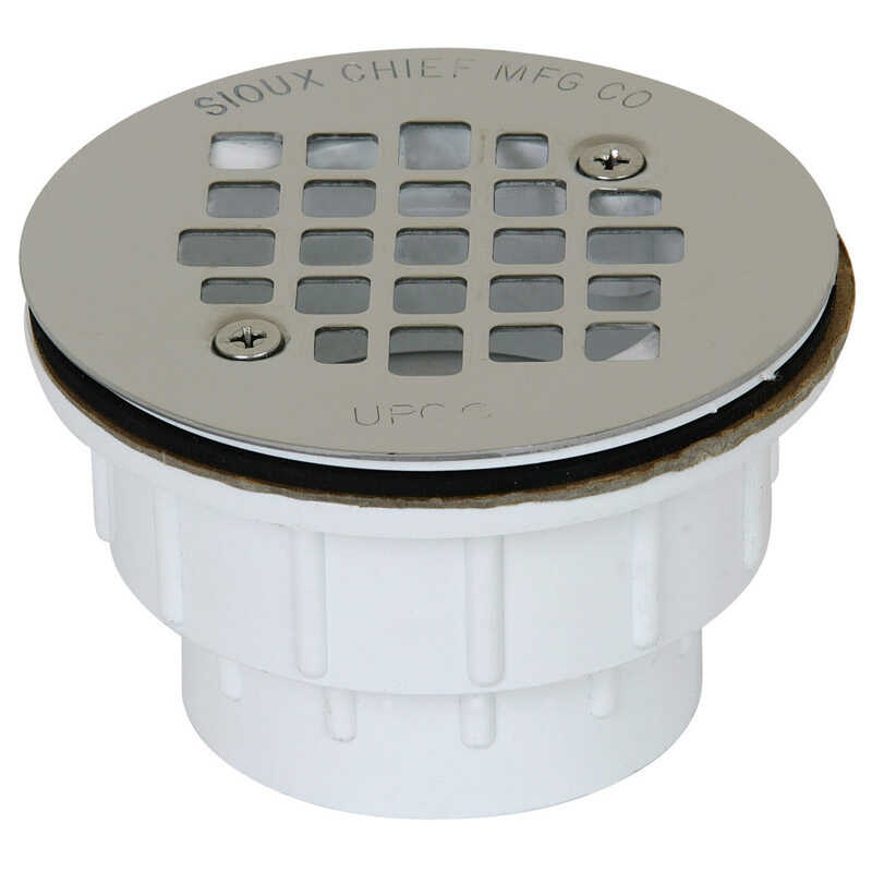 Sioux Chief  2 in. Dia. PVC  Shower Drain