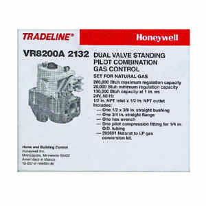Honeywell  0.5 in. Stainless Steel  Gas Valve