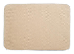 InterDesign  18 in. W x 24 in. L Microfiber  Drying Mat  Wheat