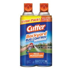 Cutter  Backyard Bug Control  Aerosol  Insect Killer  16 oz.