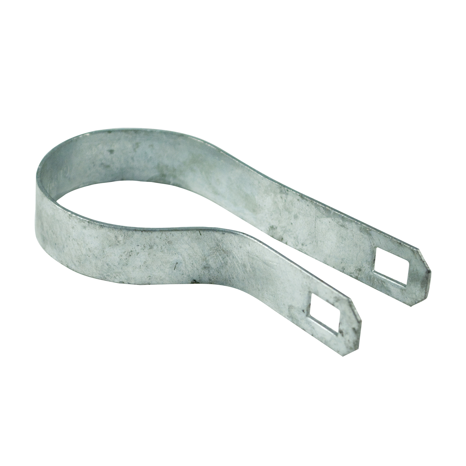 YardGard  4.72 in. L Steel  Chain Link Band Brace  75 pk