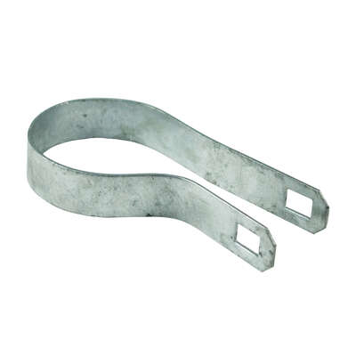 YardGard  4.72 in. L Steel  Chain Link Band Brace  1 pk