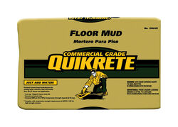 Quikrete  Floor Mud  Gray  Mortar Mix