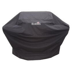 Char-Broil Black Grill Cover For Designed to fit 5,6 or 7 Burner Gas Grills, X-Larg 72 in. W x 42