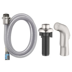 OakBrook  Metallic  Brushed Nickel  Nickel  Spray Head and Hose Kit