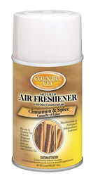 Country Vet Cinnamon and Spice Scent Air Freshener Refill 6.6 oz. Aerosol
