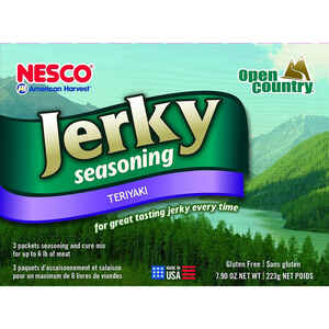 Nesco American Harvest  Open Country  Jerky Seasoning/Cure Mix  8.8