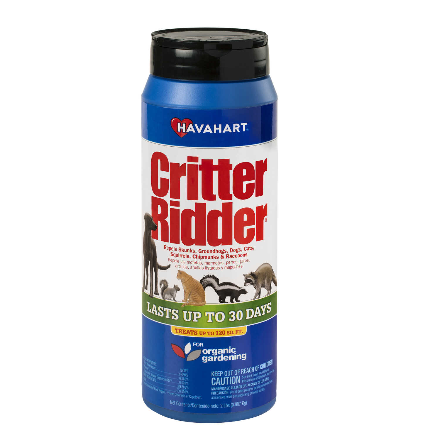 Havahart  Critter Ridder  For Multiple Animal Types Animal Repellent  2 lb.