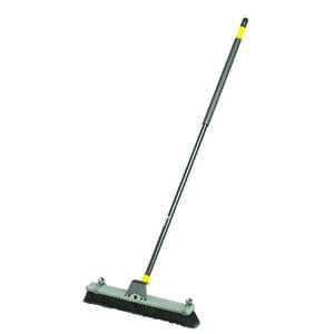 Quickie  Bulldozer  Soft Sweep  24 in. W x 60 in. L Polypropylene