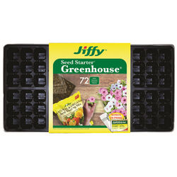 Jiffy  Greenhouse  Seed Starter Tray