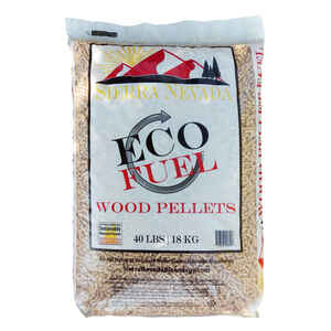 Sierra Nevada Bioenergy  ECO Fuel  Softwood  Wood Pellets  40 lb.