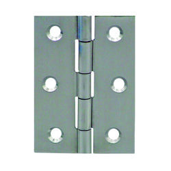Seachoice  Stainless Steel  1-5/8 in. L x 2-1/2 in. W Butt Hinges
