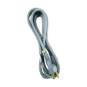 Ace  16/3 SJTW  125 volt 9 ft. L Appliance Cord